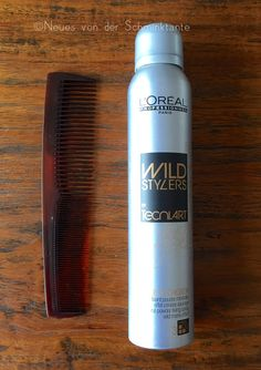 New Styling Tool from L'Oreal Professionel. See more on my blog: http://blog.schminktante.de/2015/02/18/loreal-professionel-wild-stylers-crepage-de-chignon-by-techni-art/