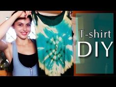 DIY: How to bleach a T-shirt - Tie-Dye Spiral Pattern