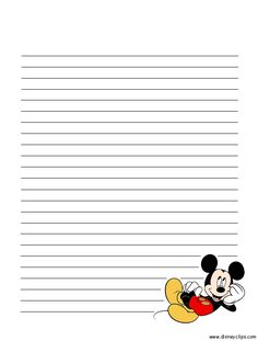 Disney Mickey Mouse and Friends Printables - invitations, stationery, door hangers and activities
