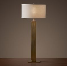 Square Column Buffet Lamp