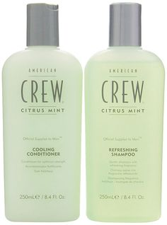 American Crew Citrus Mint Cooling 8.45 oz. Shampoo   8.45 oz. Conditioner (Combo Deal) -- Click on the image for additional details.