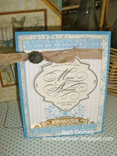 Barb's Beau Chateau Card Kit for sale, Stampin' Up!, Cards