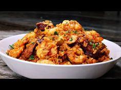The BEST Jambalaya Recipe Ever! - YouTube Best Jambalaya Recipe, Main Course Dishes, Shrimp And Rice, Good Food, Yummy Food, Coconut Chutney, Skillet Meals, Sea Food, Breakfast Recipes