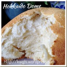 Creams and Milk Make These Buns Worth To Try –Hokkaido Soft Milk Buns and Hokkaido Dome Milk Bun, Bread Maker Recipes, Bun Recipe, Asian Desserts, Bread Rolls, Yummy Food, Yummy Recipes, Sweet Bread, Cookie Dough