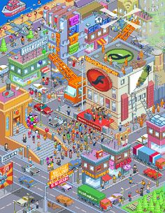 More & more people are getting interested in pixel graphics, especially since the recent release of Gary J Lucken's poster for Edge magazine subscribers. So… it's about time w…
