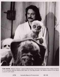 Tom Savini Horror Icons, Sci Fi Horror, Horror Films, Horror Art, Tom Savini, The Hills Have Eyes, House On Haunted Hill, The Magnificent Seven, Alone In The Dark
