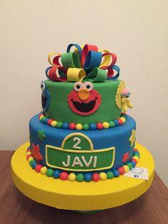 Pastel Cumpleaños Javi | Plaza Sésamo | Postrería