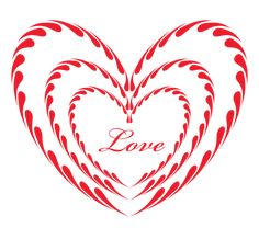 Red Heart Ornament Love PNG Clipart Picture