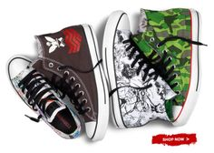 Chuck Taylor Gorillaz Collection | 60 bucks from Converse