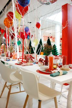 Christmas 2014 at The Conran Shop Marunouchi London Christmas, Christmas 2014, Xmas, Honeycomb Decorations, Table Decorations, Teepee Tent, Diy Party, Garland, Special Occasion