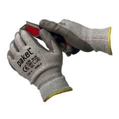 Pakel High Performance Cut Resistant Gloves with Dyneema® En388 CE Level 5 Large