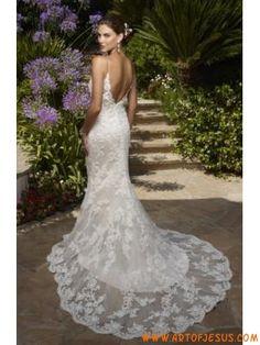 sexy sirena di pizzo abito da sposa di progettazione 2013
