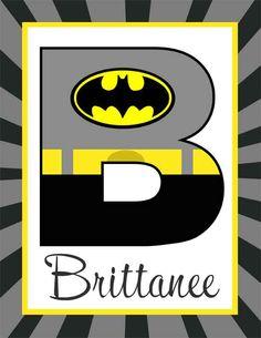 SUPER HERO Theme Classroom Decor / Student Binder Covers / editable MS Word / you personalize / Batman Theme / ARTrageous FUN
