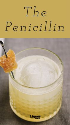 The Penicillin is a Modern Classic You Must Try! Ginger, spice and everything nice...plus some delicious #scotch !