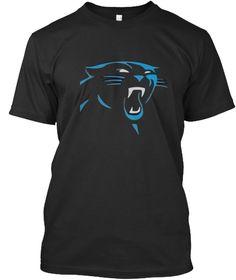 Danger Looking  Cat Black T-Shirt Front