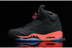 on sale 5c3b7 2fc8b Air Jordans 5 Retro Black New Emerald Grape Ice For Sale Men Authentic