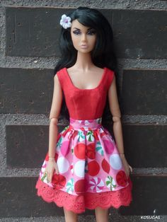 Vestido para Poppy Parker