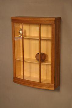 Showcase Cabinet - Clark Kellogg, Readers Gallery - Fine Woodworking