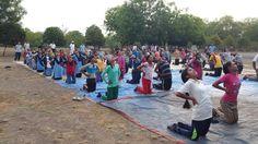 camp in sawada jalgaav with blessings of yoga guru baba Ramdev World Yoga Day, Baba Ramdev, International Yoga Day, Blessings, Dolores Park, Travel, Viajes, Destinations, Traveling