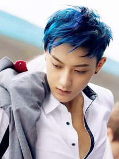 Can they dye Tao`s hair in blue again? It really looks good on him!