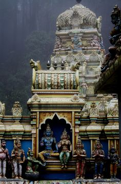 temple detail, colombo, sri lanka #hindu