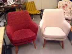 50 - luvun tuolit, suunnittelija Carl Gustaf Hiort af Ornäs