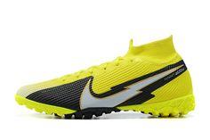 Nike Mercurial Superfly Black Football Boots, Superfly, Nike, Yellow, Design, Fashion, Moda, Fashion Styles, Fasion