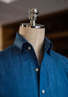 Sartorial details - One Piece Collar by B&TAILOR