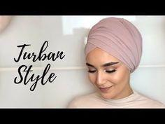 Turban style Hi Guys! Do you need a simple, fashionable and comfortable turban style? Then this tutorial w Turban Hijab, Turban Mode, Head Turban, Pashmina Hijab Tutorial, Turban Tutorial, Hijab Style Tutorial, Hijab Turban Style, Hijab Outfit, Bridal Hijab