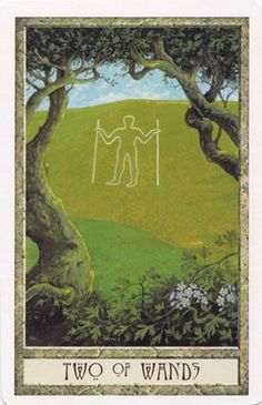 When the Two of Wands appears reversed in a reading, it is an indication that the foundations that have been laid down are not solid and need to be checked and re-checked, and any modifications should be done prior to moving forward with faulty plans. You will not achieve the desired results if you were to proceed. {DruidCraft_Tarot}