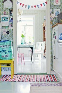 Whimsical, playful, colourful - FUN!