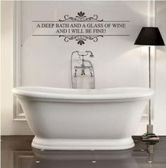 Bathroom Wall Art Sayings Best  Bathroom Wall Sayings Ideas On - Custom vinyl wall decals sayings for bathroom