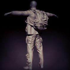 Survivor Man - Clothing & Gear WIP, Pete GTK Rabczuk on ArtStation at https://www.artstation.com/artwork/BO0Y8