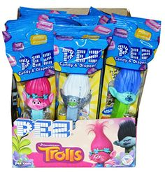 Trolls Pez Dispensers