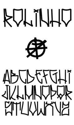 Type on Behance Roll .- Rolinho Type on Behance … Type on Behance Roll More - Graffiti Lettering Alphabet, Tattoo Lettering Fonts, Graffiti Font, Graffiti Tagging, Graffiti Drawing, Graffiti Styles, Calligraphy Alphabet, Calligraphy Fonts, Typography Letters