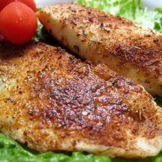 Seasoned Talapia Fillets Recipe