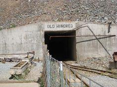 Old Gold Mines | Old Hundred Gold Mine Tour: Mine entrance