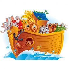 Arca de Noé, ilustraciones, historia