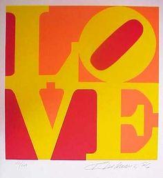 Love Red Orange Yellow