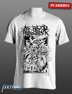 Kaos As Blood Runs Black (PCABRB001) CP : 083849642779 Band Merch, Music Stuff, Emo, Blood, Bands, Running, Metal, Clothing, Mens Tops