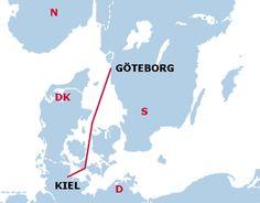 Fähre  Kiel  Göteborg  von     Stena     Line