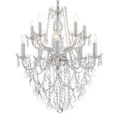 Gallery 10-light Crystal Chandelier