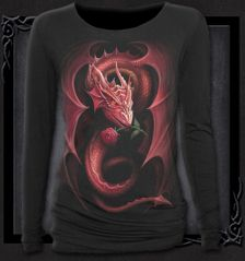 RED ROSE DRAGON - Baggy Top Black I have this one!