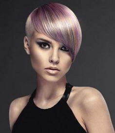Gib deinen Haaren etwas mehr Farbe! Pfiffige Kurzhaarfrisuren mit Farbe!