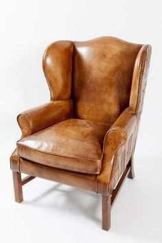 Milano Wing Chair, leather