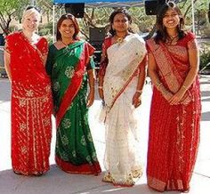 Sari ( साड़ी ) in Hinduism has special importance as they are compulsorily used during all religious ceremonies.