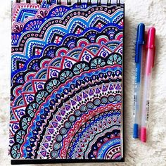 Drawing Doodles Ideas 40 Simple and Easy Doodle Art Ideas to Try - Gone are those days when doodling was only for the kids. If you want to touch your artistic side, these simple and easy doodle art ideas to try. Mandala Nature, Image Mandala, Pen Doodles, Sharpie Doodles, Mandala Doodle, Easy Mandala Drawing, Doodle Doodle, Easy Doodle Art, Sharpie Art