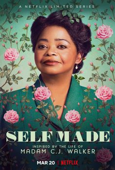 "Netflix has released the official trailer for their highly anticipated limited series, ""Self Made: Inspired by the Life of Madam C. Netflix Original Movies, New Netflix, Netflix Movies, New Movies, Movies To Watch, Good Movies, Movie Tv, Watch Netflix, Comedy Movies"