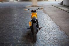 Yamaha XS400 Street Tracker by New Church Moto #motorcycles #streettracker #motos   caferacerpasion.com