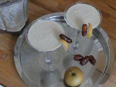 Cremiger Nashibirne-Dattel-Cocktail Cocktails, Drinks, Punch Bowls, Non Alcoholic Beverages, Rezepte, Craft Cocktails, Drinking, Cocktail, Drink